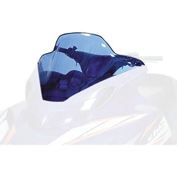 "Yamaha SX Viper Mountain 700 2003-2006 9/"" Black Graphics On Clear Windshield"