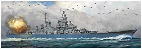 ベリーファイア 1/350 アメリカ海軍 戦艦 ウィスコンシン BB-64 プラモデル VFM350912 B07J4NVDTF