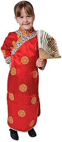 Dress Up America Conjunto de Disfraces de niña China: Amazon.es ...
