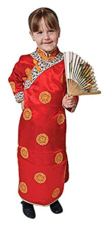 Deluxe Chinese Girl Costume Set - Small 4-6  sc 1 st  Amazon.com & Amazon.com: Deluxe Chinese Girl Costume Set: Clothing