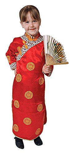 Deluxe Chinese Girl Costume Set product image