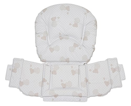 Foppapedretti rembourr/é Chaise haute Classic