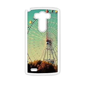 Ferris Wheel Fashion Personalized Clear Cell Phone Case For LG G3