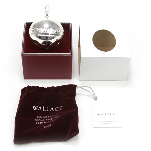 Wallace 2005 Sleigh Bell Silverplate Ornament by ()