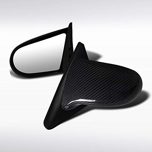 Autozensation For Honda Civic 2/3DR Real Carbon JDM Spoon Manual Mirrors