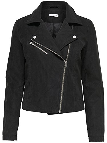 Suede Giacca Biker Giacche Faux In Donna Jdypenny Yong De Black Jacqueline Pelle Cropped PItq6vP