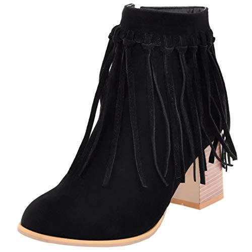 AIYOUMEI Classic Women's AIYOUMEI AIYOUMEI Black Boot Boot Classic Black Women's rqxrv0F