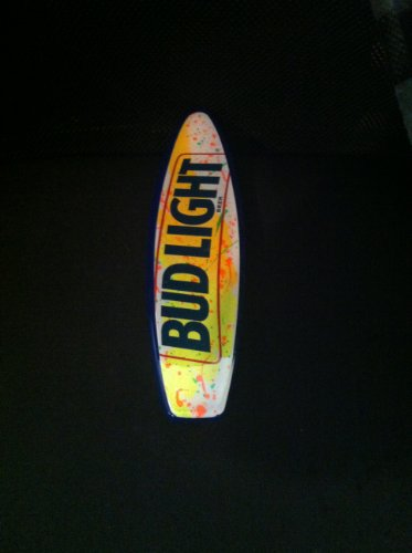 Bud Light Tap Handle- - Handle Tap Surfboard