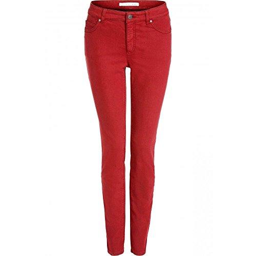 Rosso para Oui Vaqueros Mujer Slim FpF4Iq