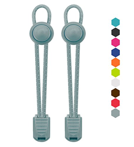 VESONNY Elastic Reflective Shoelaces Athletics