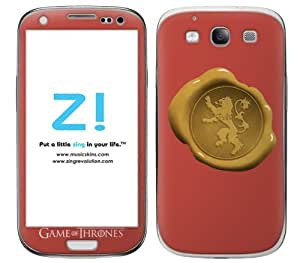Zing Revolution Game of Thrones Premium Vinyl Adhesive Skin for Samsung Galaxy S III, Arya Stark (MS-GOT430415)