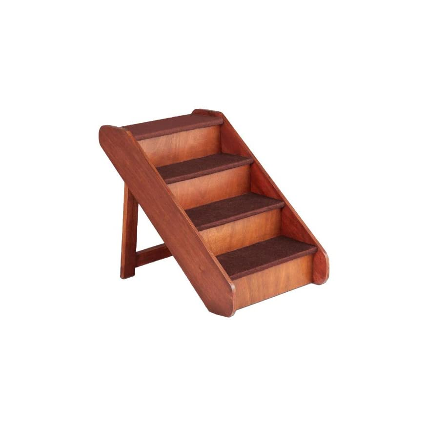 Petsafe Solvit Pupstep Wood Pet Stairs For Dogs And Cats