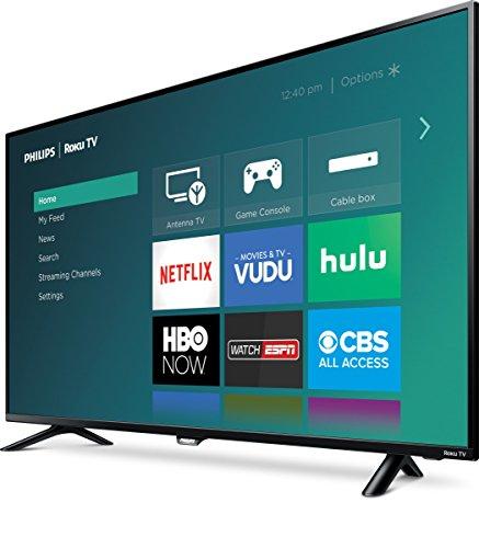 Philips 50PFL4662 1080P Roku Smart LED TV