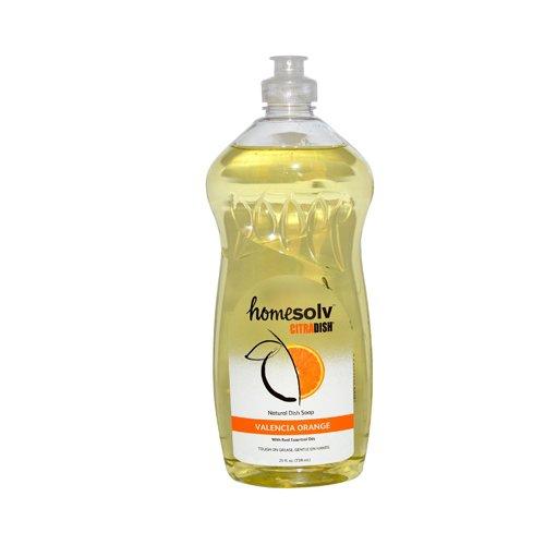 CitraSolv Homesolv CitraDish Natural Dish Soap - Valencia Orange - 25 oz (Pack of 3)
