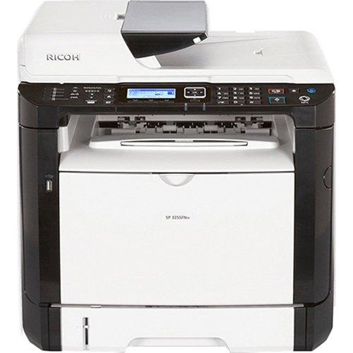 Black White Copier Machines - Ricoh 407983 SP 325SFNw Fax/Copier/Printer/Scanner, Black/white