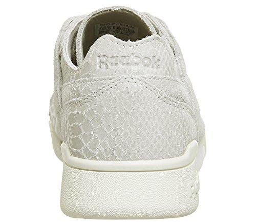 Mode Femme Reebok Dcn Baskets Foil Blanc Workout Lo 7PqPUY