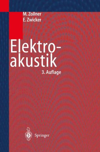 Elektroakustik (Springer-Lehrbuch)