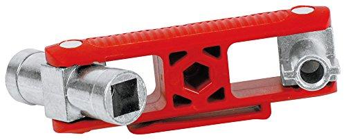 KNIPEX 00 11 06 V02 Universal-Schlüssel für gängige Schränke und Absperrsysteme 97 mm