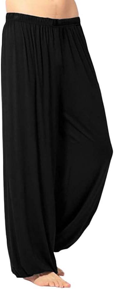 Oliviavan Pantalones Para Hombre Moda Hombre Casual Color Solido Recto Pantalones Sueltos Fitness Transpirable Yoga Pantalones De Chandal Decoracion De Pared Cenefas Decorativas
