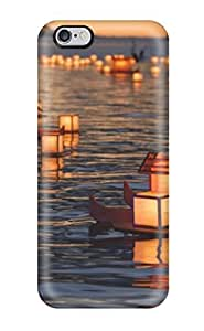 High-quality Durability Case For Iphone 6 Plus(floating Lanterns)