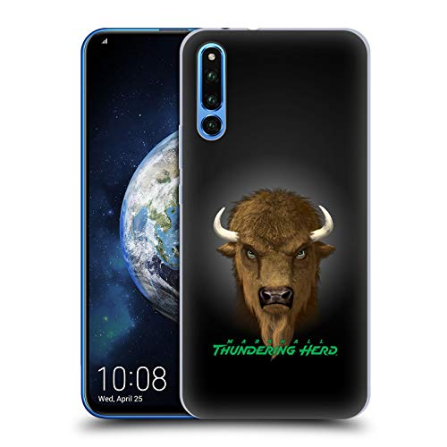 (Official Vincent HIE Marshall University Collegiate Varsity Hard Back Case Compatible for Huawei Honor Magic 2)