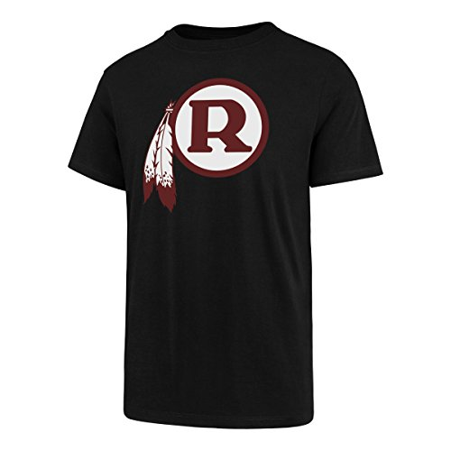 Nfl Throwbacks - NFL Washington Redskins Men's Legacy OTS Rival Tee, Large, Jet Black