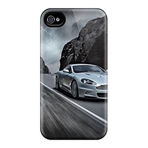 Hot Aston Martin First Grade Tpu Phone Case For Iphone 4/4s Case Cover