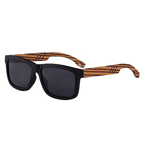 color de Gafas hechas Gafas de mano sol alta sol Protección conducción Personalidad Eyewear a hechas sol polarizadas de Adult mano de UV a calidad de de de playa Dis sol Gafas de gafas Tiras madera de wtqXRnxO8