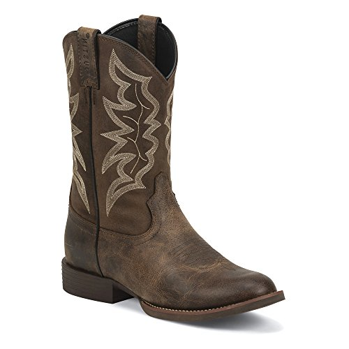Justin Boots Men's Stampede 7221 Distressed Brown 7 D cheap