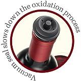 Vacu Vin Wine Saver Pump with 2 x Vacuum Bottle