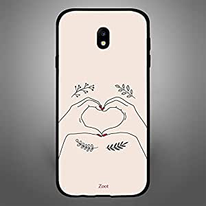 Samsung Galaxy J7 2017 Hand Heart