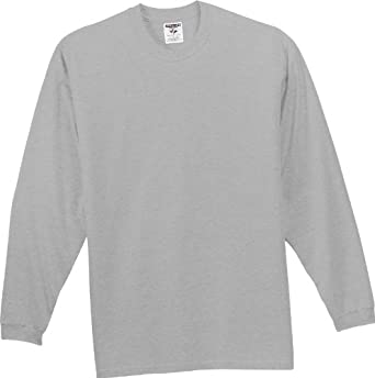 Jerzees 363L 5.6 oz. Cotton Long-Sleeve T-Shirt | Amazon.com