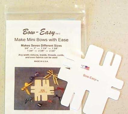 amazon com bow easy mini bow tying template