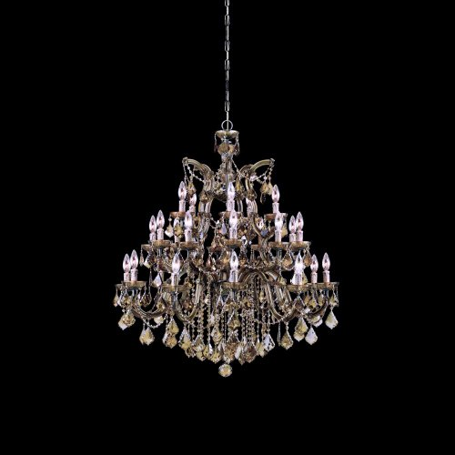 Crystorama 4470-AB-GT-MWP Crystal Ten Light Chandelier from Maria Theresa collection in ()