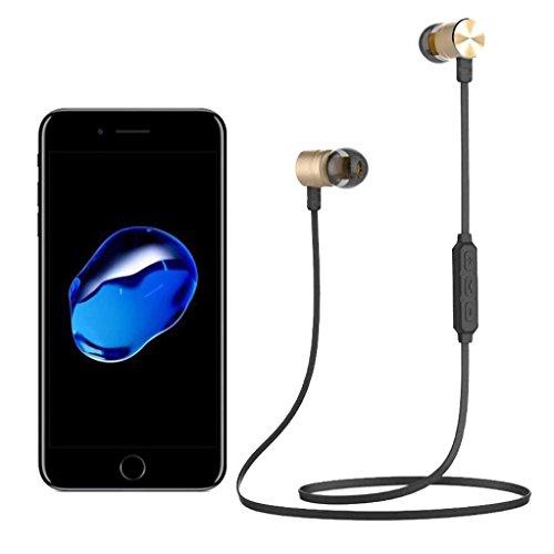 New Style Wireless Headset , Egmy Popular Bluetooth Wireless In-Ear Stereo Headphones Waterproof Sports Headphones ()