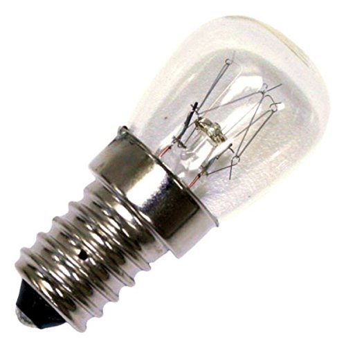 25w TO FIT ZANUSSI REFRIGERATOR E14 SES LAMP LIGHT BULB FRIDGE FREEZER 2423 unbranded