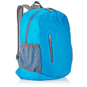 AmazonBasics Ultralight Packable Day Pack, Light Blue, 35L