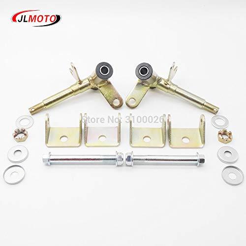 Zereff Parts & Accessories 1Pair/2Pcs Steering Strut Knuckle Spindle Fit for Disc Brake of ATV 49Cc 50Cc 70Cc 90Cc 110Cc Go Kart Buggy Utv Quad Bike Parts
