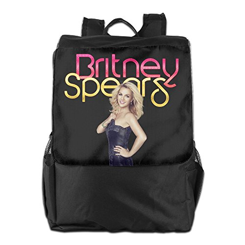 [Bekey Adult Britney Spears Poster Outdoor Travel Hiking School Trekking Camping Backpack Daypack] (Britney Spears Costumes)