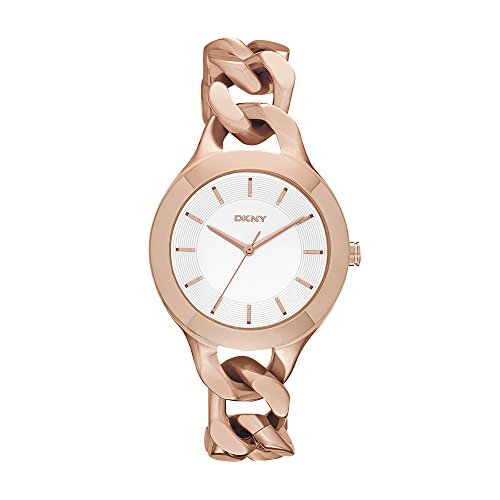 - DKNY Women's NY2218 CHAMBERS Rose Gold-Tone Stainless Steel Watch