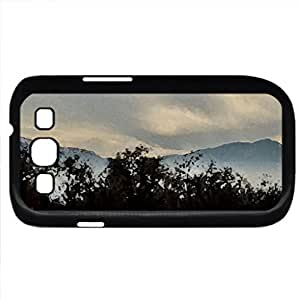 2nd step (Winter Series) Watercolor style - Case Cover For Samsung Galaxy S3 i9300 (Black)