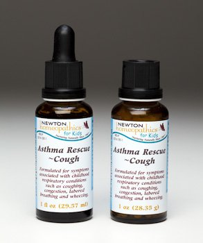 Newton Homeopathic labs. Kids Asthma Rescue Cough-1 fl. oz. (2 Pack)