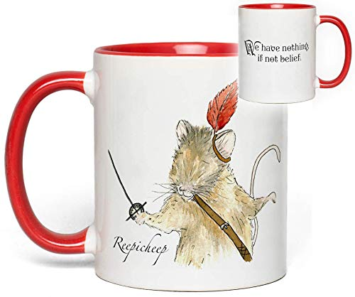 Narnia Reepicheep Mug Quote Fan Gift