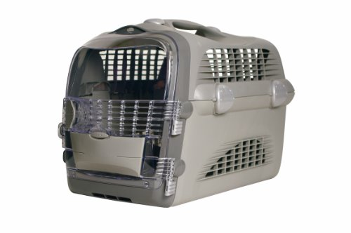 Catit 50781 Cabrio Transportbox für Katzen grau