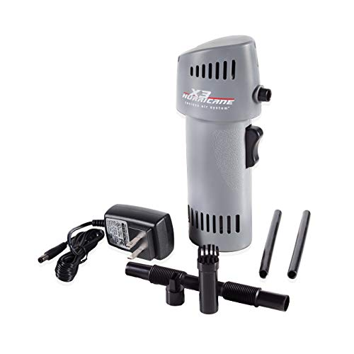 X3 Hurricane Variable Speed 260mph+ Cordless Compressed Air Alternative (Canless Air System O2 Hurricane)
