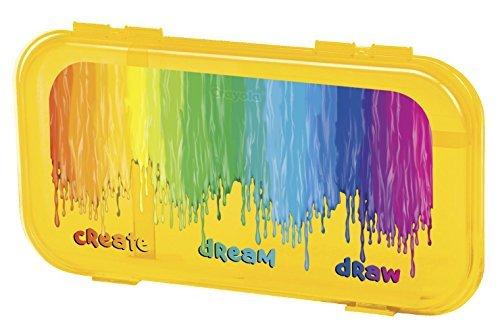 """Crayola School Supply Case, 11-3/8""""L X 6-1/8""""W X 1-1/8""""H, As"""