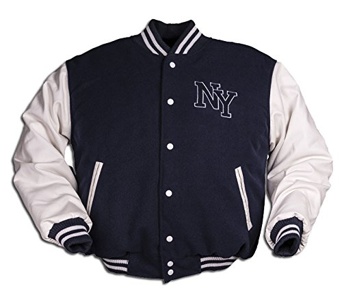 035ee9e92 Image Unavailable. Image not available for. Color: Vintage NY Baseball  Jacket ...
