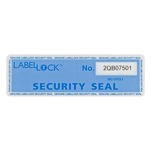 LabelLock Sicherheitsetiketten Low Residue, Farbe: blau, Medium, Maße=98x30 mm
