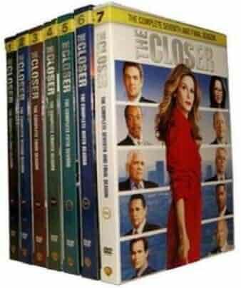 New The Closer Complete Series (DVD,Seasons 1-7, Box Set)