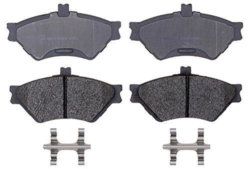 ACDelco 14D659MH Advantage Semi-Metallic Front Disc Brake Pad Set with Hardware ()